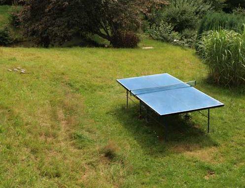 Zum Rundblick Tischtennisplatte