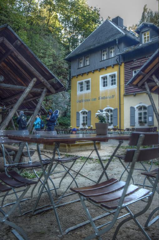 Sächsische Schweiz Kuhstall Gaststätte
